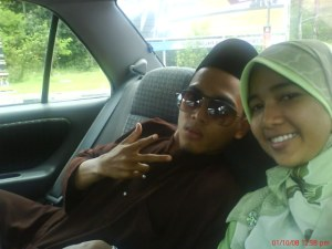 with my cousin - asyraff (acap)
