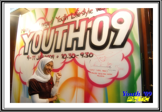 in front of youth 09