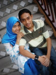 with my cinta